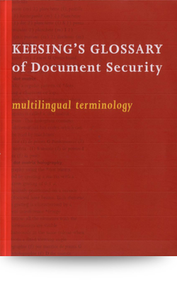 glossary of document security